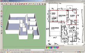 Projects Inspiration Floor Plan Dimension by Sketchup Assignment Dream House Project Drew Blog Architecture