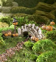 Garden Halloween Decorations Fairy Garden Halloween Lane Accessories Set U2026 Fairy Gardens