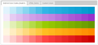 android color android color generator free tool android tutorial