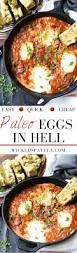 Dinner Egg Recipes Paleo Eggs In Hell Wicked Spatula