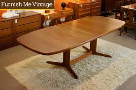 Teak Dining Room Furniture Rasmus Large Danish Modern Teak Dining Table