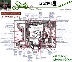 221b baker street floor plan baker street 221 b sherlock holmes london floor plan ground plan