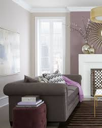 Gray And Purple Bedroom by Living Room Colors But With Bold Eggplant Rather Than Neutral