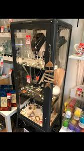ikea fabrikor ikea fabrikor glass display cabinet shop malm in jordanhill