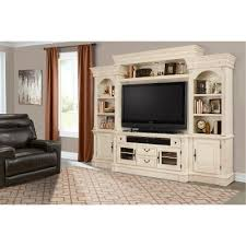 entertainment centers for living rooms transitional burnished white entertainment center fremont rc