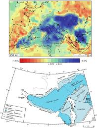 The Alps On World Map by Recoiling Plate Tectonic Reconstructions Of Alpine Tethys With The