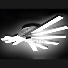 ceiling light creative fan shaped rotate led ceiling light fixture