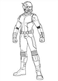 kids n fun com 18 coloring pages of ant man