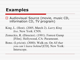 apa format movie titles apa style bsics ids1001 collection of solutions apa format movie