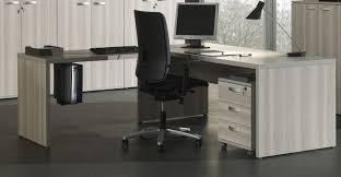 mobilier de bureau informatique bureau angle gris mobilier bureau pas cher eyebuy