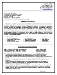 Sample Resume Usa by Example Of A Good Usajobs Resume Resume And Cover Letter With