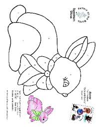 free stained glass pattern 2327 bunny patterns by spectrum