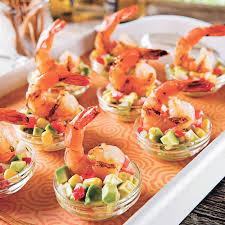 cuisine crevette crevettes à la lime et salsa mexicaine recettes cuisine et
