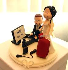 gamer wedding cake topper cake topper studio best custom wedding cake topper