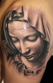 virgin mary tattoo by riccardo cassese photo no 7923
