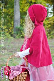 red riding hood spirit halloween mommy by day crafter by night little red riding hood costume