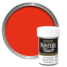 rust oleum painter u0027s touch interior u0026 exterior bright orange gloss