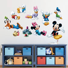 large mickey mouse wall stickers sticker creations aliexpress com cute mickey minnie mouse family wall sticker