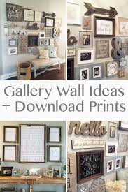 25 of the best home decor blogs shutterfly incredible design wall gallery ideas best 25 on pinterest farmhouse