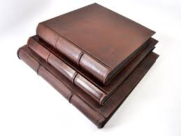 leather photo albums amato 14 x 18 handmade italian distressed leather photo album