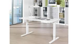 Schreibtisch 1 80 M Planeo Bürotisch Computertisch In Weiß Von Wellemöbel 160