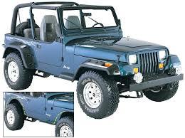 2011 jeep wrangler fender flares bushwacker 10909 07 cut out fender flares for 87 95 jeep wrangler