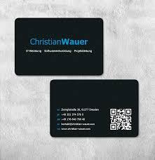visitenkarte design visitenkarten und briefpapier für it freiberufler business card