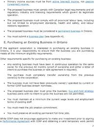 Ontario Immigrant Nominee Program Corporate Stream Guide   PDF DocPlayer net The proposed business must comply with all provincial labour laws  including but not limited to