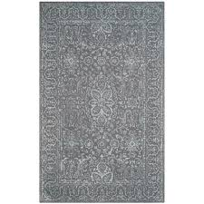 Gray Green Rug Safavieh Glamour Opal Gray 6 Ft X 9 Ft Area Rug Glm516c 6 The