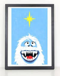 bumbles abominable snowman rankin bass altoid rudolph nosed
