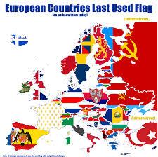 Oldest Flag In Europe European Countries Last Used Flag Europe