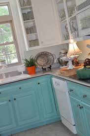 Painted Kitchen Cupboard Ideas Best 10 Turquoise Kitchen Decor Ideas On Pinterest Teal Kitchen