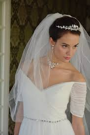 wedding dress necklace wedding jewelry tiara necklace and earrings bridal