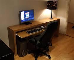 Ikea Furniture Computer Desk Computer Desk With Keyboard Tray Ikea Furniture Magnificent Mini