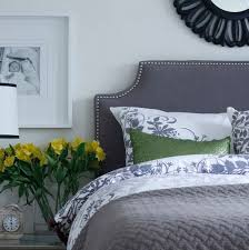 Wall Mount Headboard Good Looking Wall Mounted Headboards In Bedroom Eclectic With