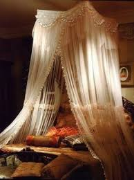 Lace Bed Canopy Majesty Ivory Large Bed Canopy Bed Canopy Brings You Back In Time