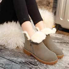 s boots flat autumn and winter fashion martin boots flat