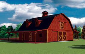 Gambrel Roof Barn Horse Barn With Gambrel Roof Carmel Indiana Fbi Buildings