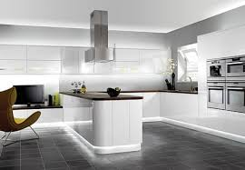 modern kitchen cabinet color with luxury interior and decorative