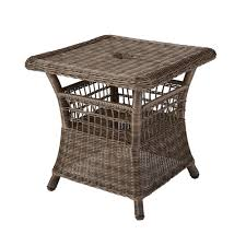 Patio Accent Table by Patio Side Table For Umbrella Patio Decoration