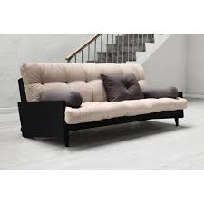 canap convertible 190 cm canapé banquette futon convertible au meilleur prix canapé noir 3