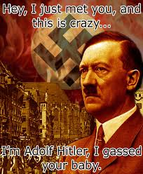 This Is Crazy Meme - adolf hitler gassed your baby call me maybe know your meme