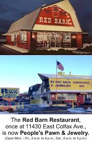 Red Barn Restaurant Colfax Avenue 2015
