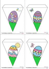 Easter Decorations Printouts by Easter Printables