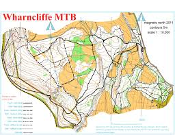 Yorkshire Map Sheffield Mbo Wharncliffe July 9th 2011 Orienteering Map From