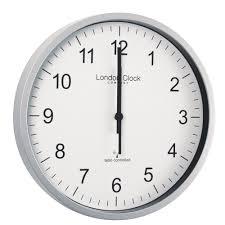 radio controlled clock 28cm 36034 amazon co uk kitchen u0026 home