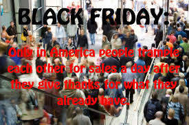 call to boycott black friday shopping on thanksgiving