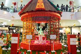 brett cole photography durga puja decorations at south city mall