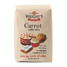 wright u0027s baking 500g carrot cake mix edibles from cake stuff uk