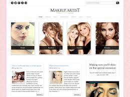 Makeup Artist Online Makeup Artist Template Wordpress Mugeek Vidalondon